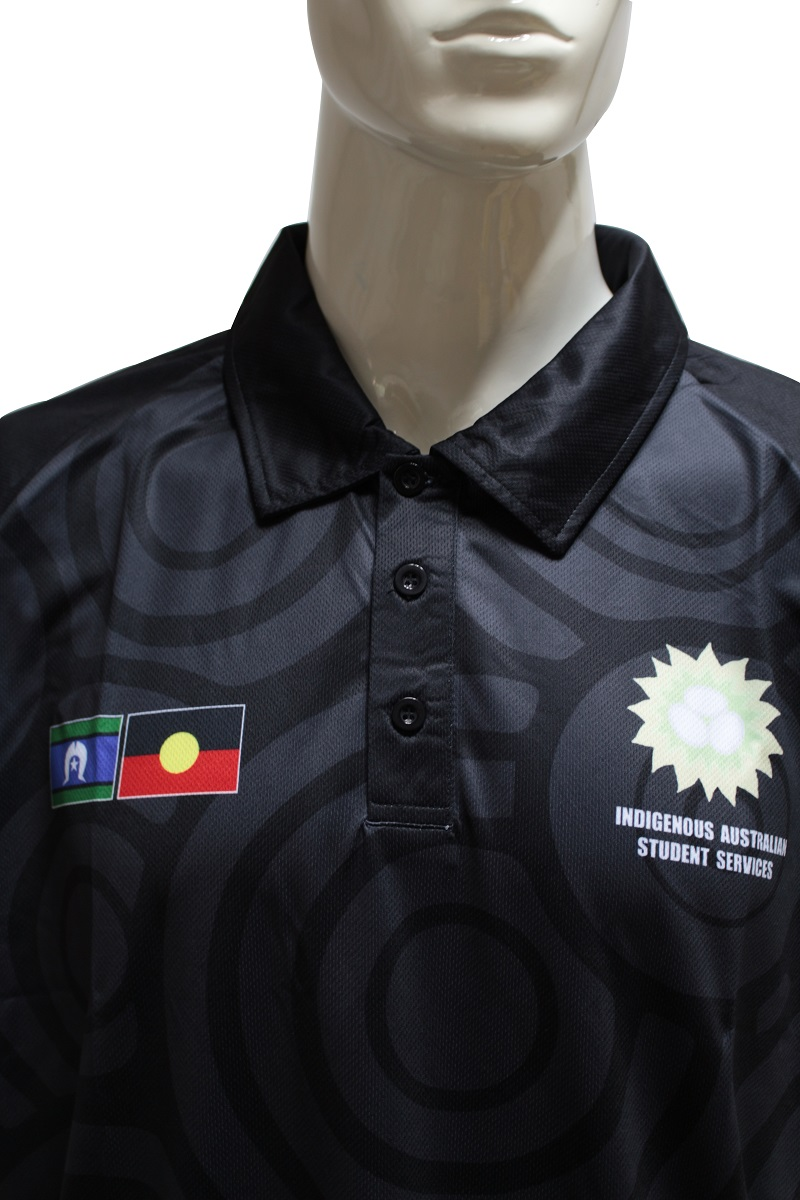 mens black polo