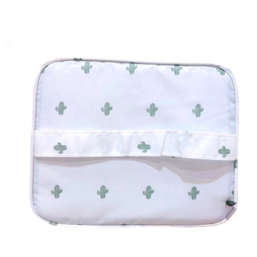 Customized New Design Pattern Printed Luxury Travel Makeup Toiletry Cosmetics Bag