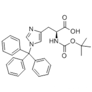 L-Histidine,N-[(1,1-dimethylethoxy)carbonyl]-1-(triphenylmethyl) CAS 32926-43-5