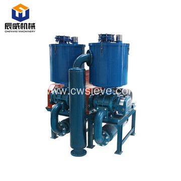 Industrial electric vacuum conveyor for powder