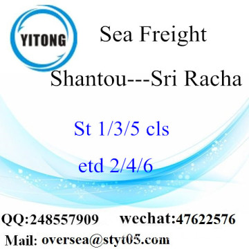 Shantou Port LCL Consolidation To Sri Racha
