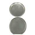 Diameter 200mm height 25mm SS304 short test sieve