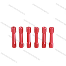 M3 anodized aluminum step standoffs for drones