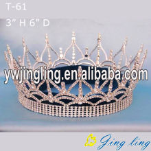 Custom King Pageant Full Round Crowns