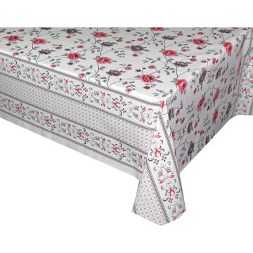 Pvc Printed fitted table covers Table Linens Seattle