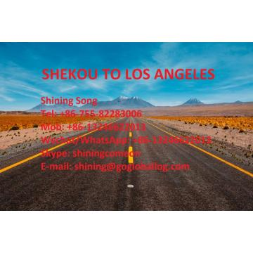 Shenzhen Shekou Sea Freight to United States Los Angeles