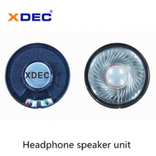 Factory directly supply for Voice Headphone Speakers Low Bass 30mW 32ohm 40mm headphone speaker supply to Canada Manufacturer