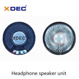 High Efficiency Factory for Intercom Headphone Speaker Low Bass 30mW 32ohm 40mm headphone speaker supply to St. Helena Suppliers