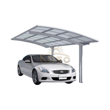 Garage Waterproof Plastic Polycarbonate Portable Carport Kit