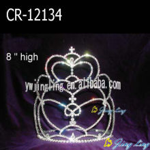 Wholesale Cheap Tall Pageant Crowns For Sale