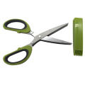Stainless Steel Herb Scissors with 5 Blades