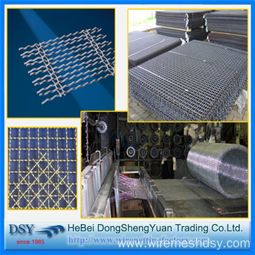Stainless Steel Crimped Wire Mesh Screen for Sales