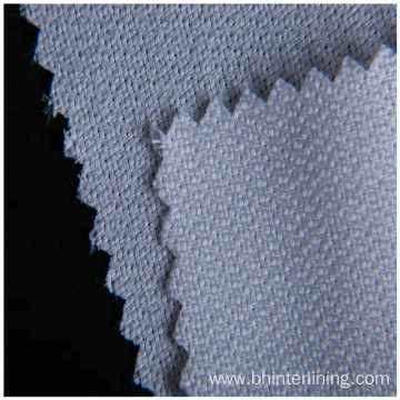 Polyester woven Interlining fabric for high grade suit