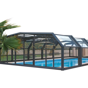 Leading for Polycarbonate Swimming Pool Enclosures Generator Installation Portable Pool Enclosure export to Portugal Manufacturers