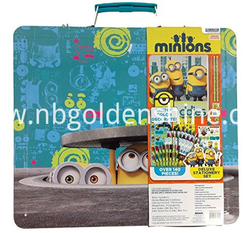 Kids Deluxe Stationery Tin Case Pencil Case