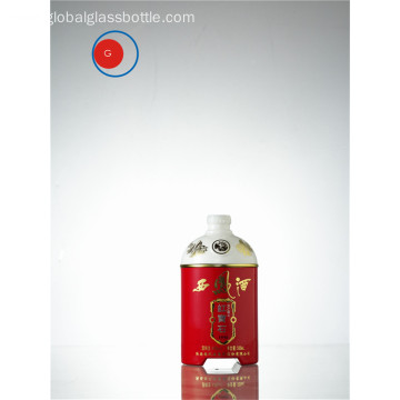 Xifeng Jiu Chinese Liquor Glass Bottle