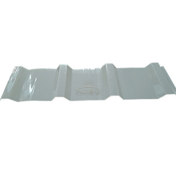 Clear Plastic Polycarbonate Corrugated Roofing