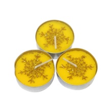 Natural Tea light Colorful tealight candle