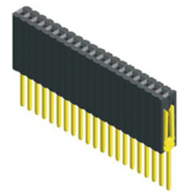 1.27mm Female Header Single Row Straight Type(W=2.5 H=8.5)
