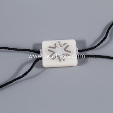 Star logo plastic seal with tag for luxury
