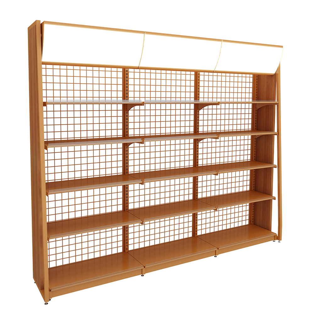 Steel Single-Sided Display Shelves