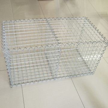 Galvanized welded gabion mesh box stone cage