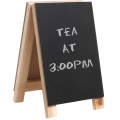 Mini 8 inch Tabletop Wooden Easel Chalkboard Sign