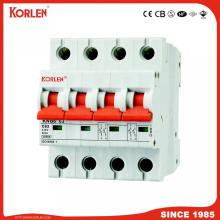 10KA  Capacity MCB L7 Series Miniature Circuit Breaker with good copper Ce CB Semko Sirim IEC/En60898