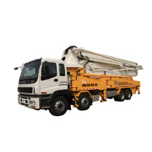 Best Price for Mobile Concrete Plant Truck Shantui 49m Truck-Mounted Concrete Pump supply to Mauritius Factory