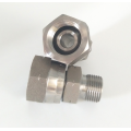 BSPP Male Female Swivel Nut Hydraulic Straight Union
