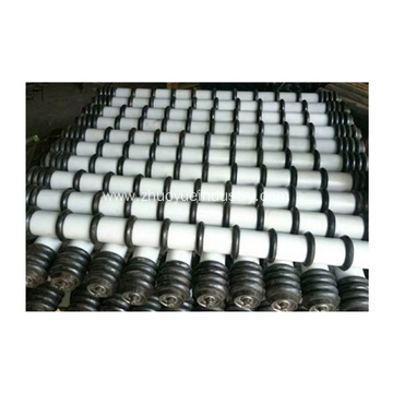 Jenis Industri Karet Disc Conveyor Rollers