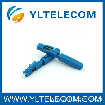 FTTH Fiber Optical LC/UPC SM Fast Connectors