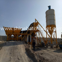 25 Mobile Concrete Batch Plant