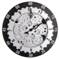 Round 12 Inches Gear Wall Clock