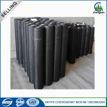 Square Opening Black Wire Mesh Cloth