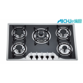 7MM Tempered  Glass 5 Burners Gas Hob