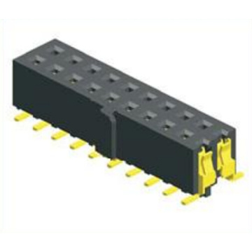 2.54mm Female Header Dual Row SMT With Bump