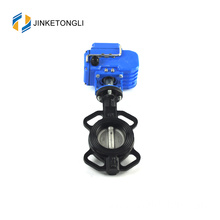JKTL manufacture epdm rubber seal butterfly valve dn20 with iso ce certificate