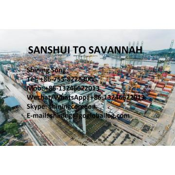Foshan Sanshui Sea Freight to United States Savannah