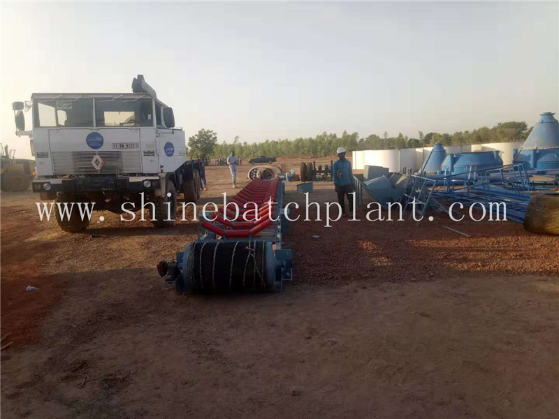 Portable Concrete Mixer Batching Plants