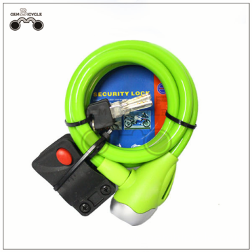 Colorful china cheap spherical bike lock oem
