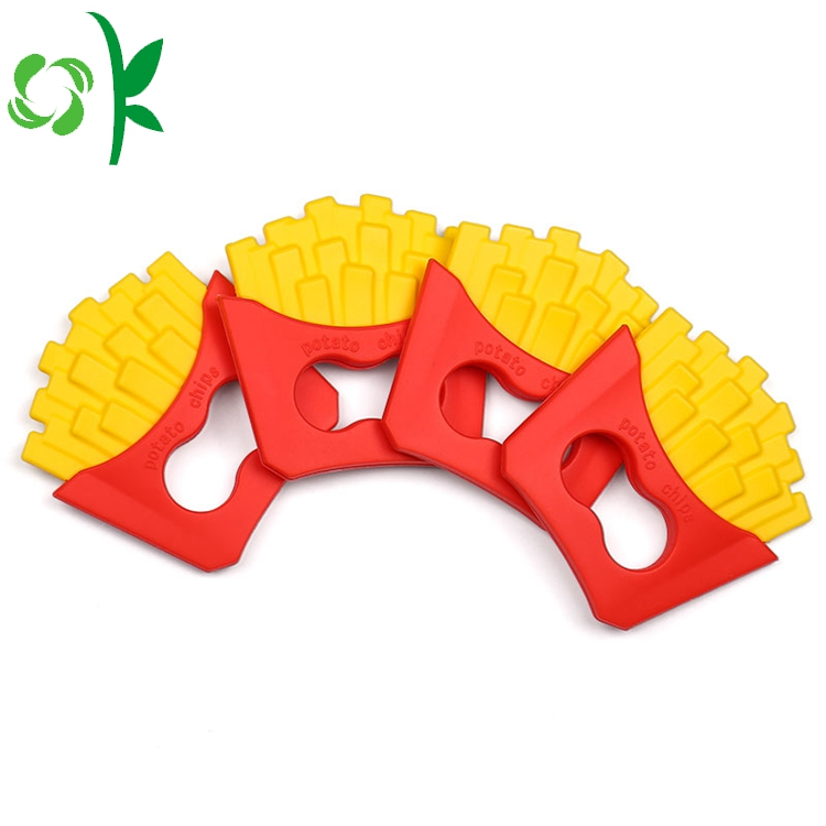Silicone Chips Teether
