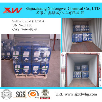 Sulphuric Acid 98% Concentrate Quotation