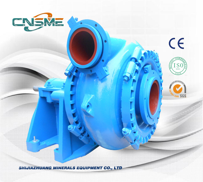 Horizontal sand Suction Dredging Gravel Pump