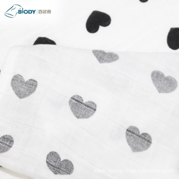 Bamboo Cotton Muslin Wrap Swaddle Baby Blanket
