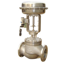 Oxygen Stainless Steel Pneumatic Single Seat Regulating Valve