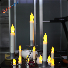 Home flameless led taper candle for party