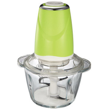 1.2L pure clear and thick glass food chopper
