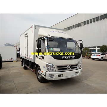 Foton 5 Ton Insulated Van Vehicles