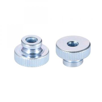 Knurled Thumb Nuts M6 Round Knobs Zinc Plating